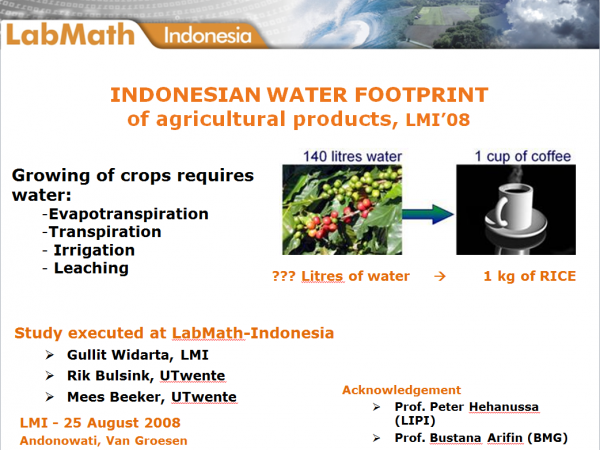 WaterFoodPrint1